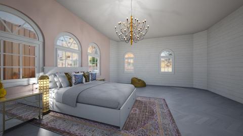 Pink Rooms - Bedroom  - by designer408340284