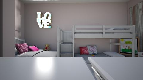 yasofisa - Kids room  - by Angela Quintieri
