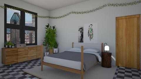 ujungle - Bedroom - by rosej