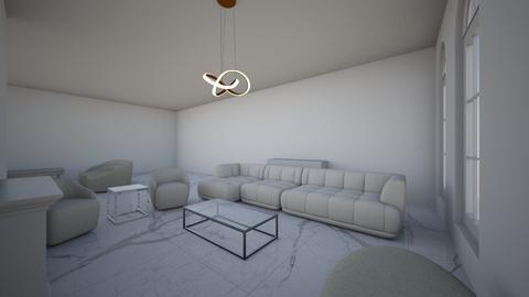 Minimalist stuff  - Living room  - by barbararrooyo