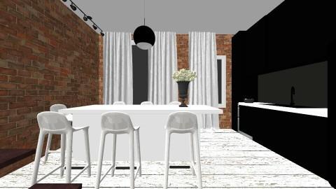 piekna3 - Retro - Kitchen - by ewcia11115555