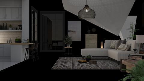 Sloped - Kitchen  - by heapster1234