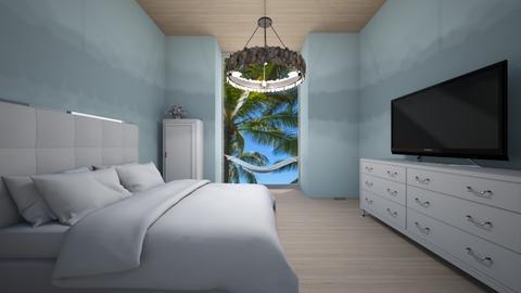 Beach Room - Bedroom  - by Skwood