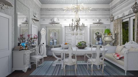 Old Swedish style - Eclectic - Dining room  - by Ida Dzanovic