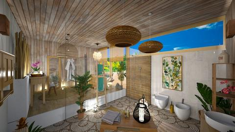 beach bathroom - Bathroom - by Cataresteves