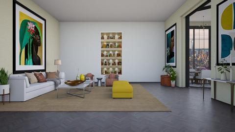 tel aviv - Modern - Living room - by ne1b