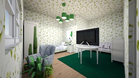 salotto e letto verde - Vintage - Living room  - by Newt Forever GM