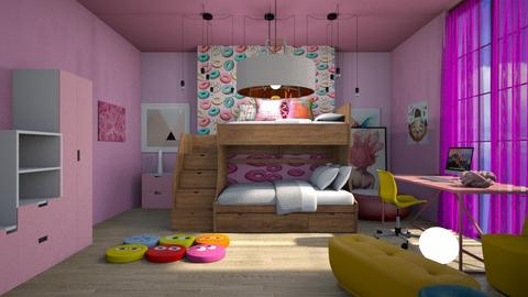 Playful Bedroom_B - by Spark of Heaven