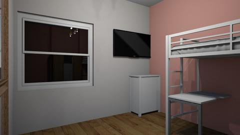 tipo 1 de habitacion  - Feminine - Bedroom  - by getse