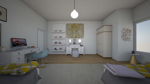 first - Bedroom  - by vleraakrasniqi