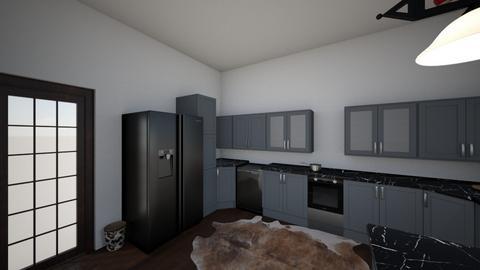 3D Kitchen Design - Kitchen  - by m_deroche11