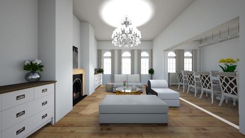 new home living room - Glamour - Living room  - by Stephanie Felix
