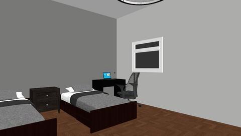 Chambre 3 VtM - Modern - Bedroom - by phenixon