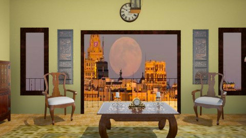 Baroque House - Vintage - Living room  - by Steven_Duart