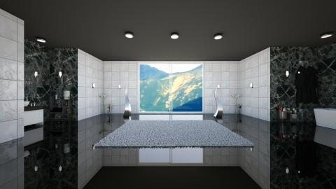 Elegant Bathroom - Glamour - Bathroom  - by zosiawojcik