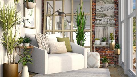 Sunroom - Living room  - by smhewitt