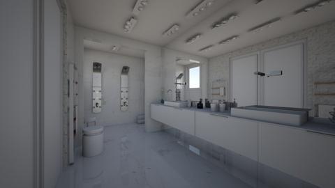 marble wood design - Bathroom  - by harassarah11