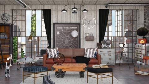 Steampunk Living Room - Living room - by ArtHousedeco