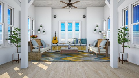 Beaching the feeling - Country - Living room  - by Faye Dela Cruz