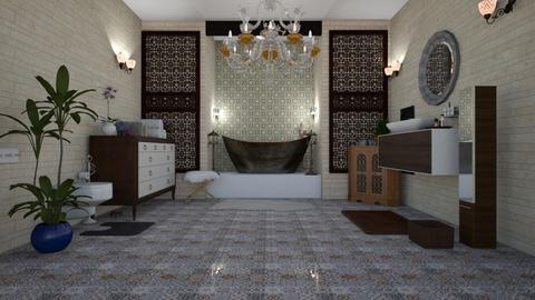 moroccan bath - Rustic - Bathroom  - by agargidp