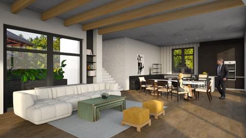 loft - Modern - Living room  - by tolo13lolo