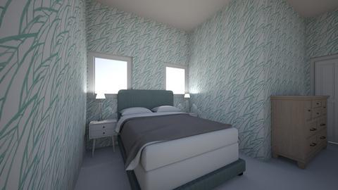 seashell bedroom - Bedroom  - by campbellpurp
