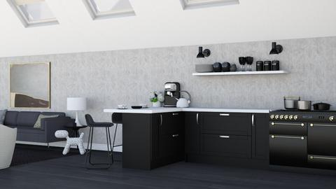 Roof - Kitchen  - by zozan