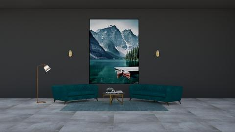 Emerald Mountain Lounge - Living room  - by 021snoopy205