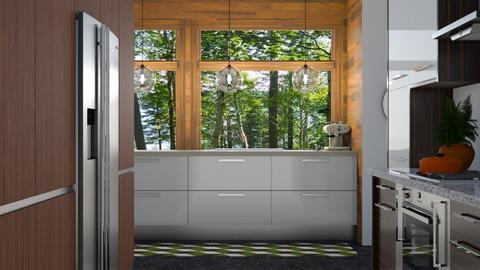 mid century kitchen  - Kitchen  - by boho_dreamer