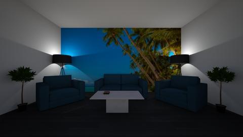 Palm Tree snug - Modern - Living room  - by riordan simpson