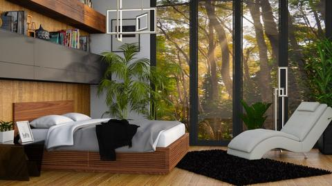Jungle Bedroom - Rustic - Living room  - by millerfam