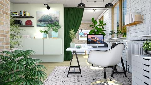 Office - Eclectic - Office - by evahassing