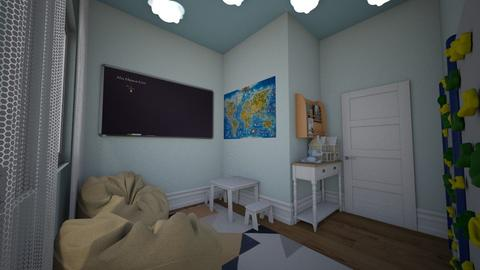 Playroom - Minimal - Kids room - by chicken1234