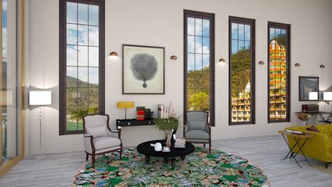 90707hjhEW4 - Modern - Dining room  - by neumediadesigns