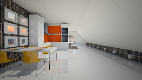 flat1 - Kitchen  - by maaiica