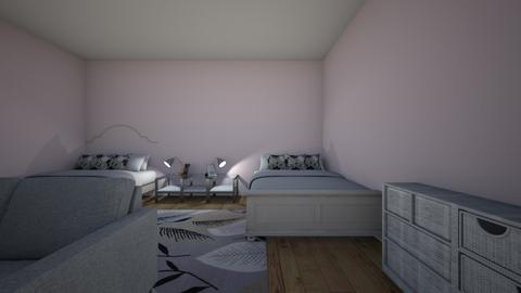 my bedroom - Classic - Bedroom  - by abril godinez
