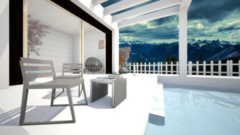 Villa_Lounge - Modern - Garden  - by Sandeep Kondana