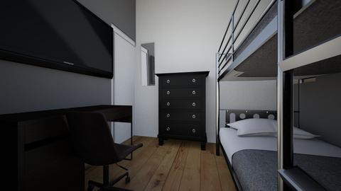 Muchachos 2 - Minimal - Bedroom - by nvarelar