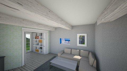cabin - Vintage - Living room  - by Ane Berntsenh