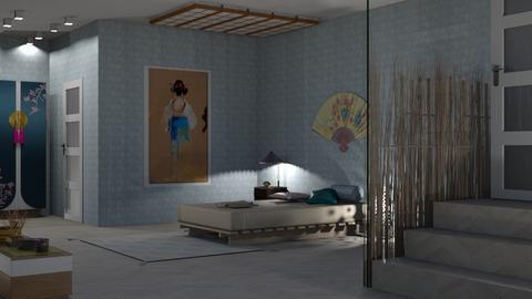 kimono - Bedroom  - by nat mi