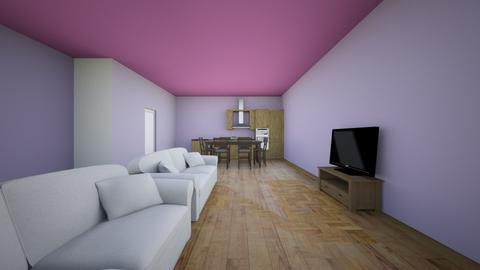 house - by flufftae