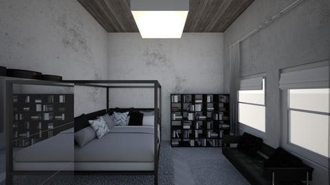 Quarto00 - Modern - Bedroom  - by estefani_hellen