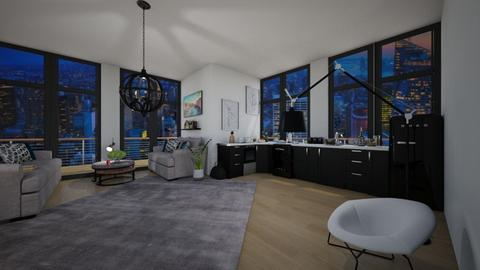 New York Apartment - Classic - by Drama Llama