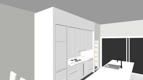 Sala cozinha - Minimal - Dining room  - by salomeoliveira