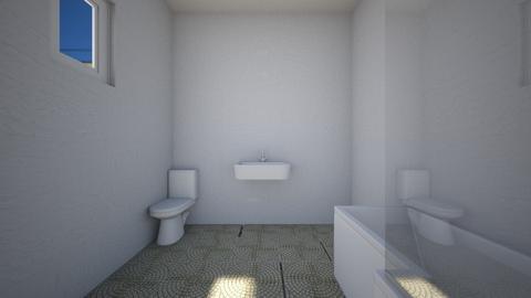 storey house bathroom - Bathroom - by lokneszikolbasz