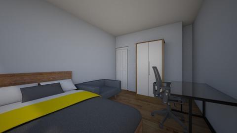 Gogi - Bedroom  - by kristinaluckanova