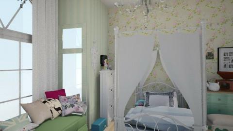 vintage - Vintage - Bedroom  - by annemorsant