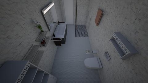 Midland Basement Bath - Bathroom - by rrmedicx