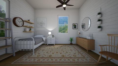 quaint bedroom - Country - Bedroom  - by charlottefolk