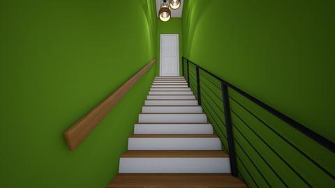 Basement Stairs - Office  - by SammyJPili